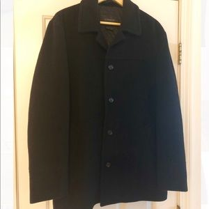 Express wool Pea Coat men's